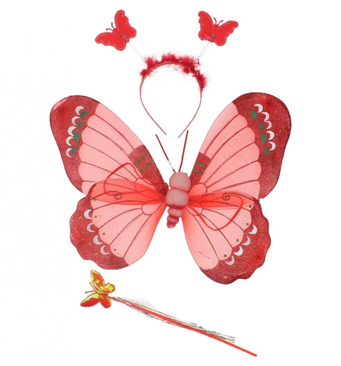 23 Nisan Kız Çocuk Kelebek Kanat Seti 037-226001-002
