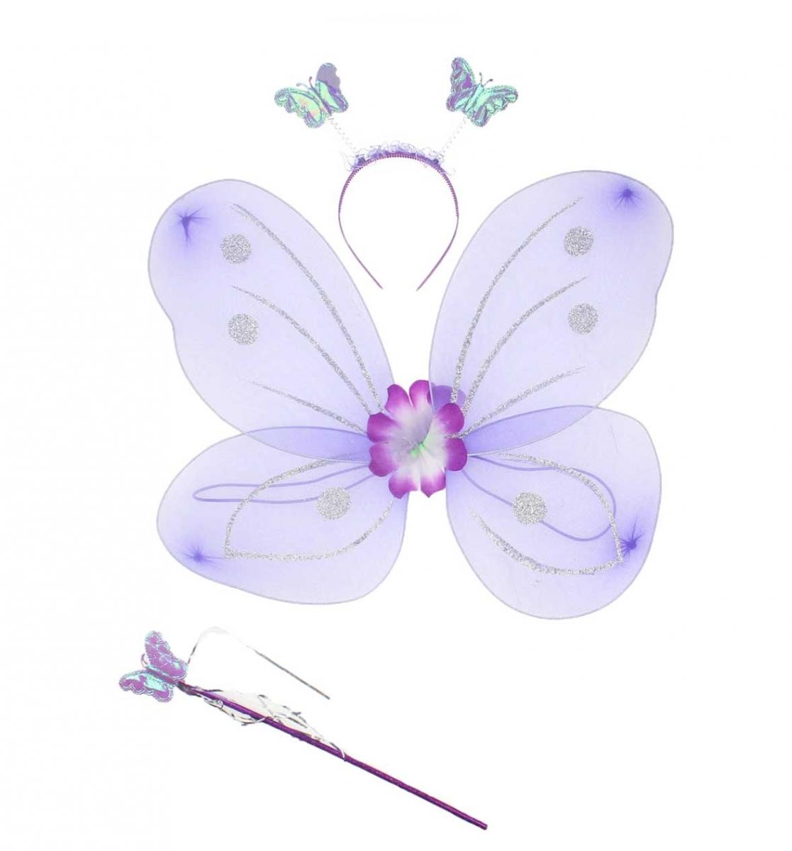 23 Nisan Kız Çocuk Kelebek Kanat Seti 037-226001-026