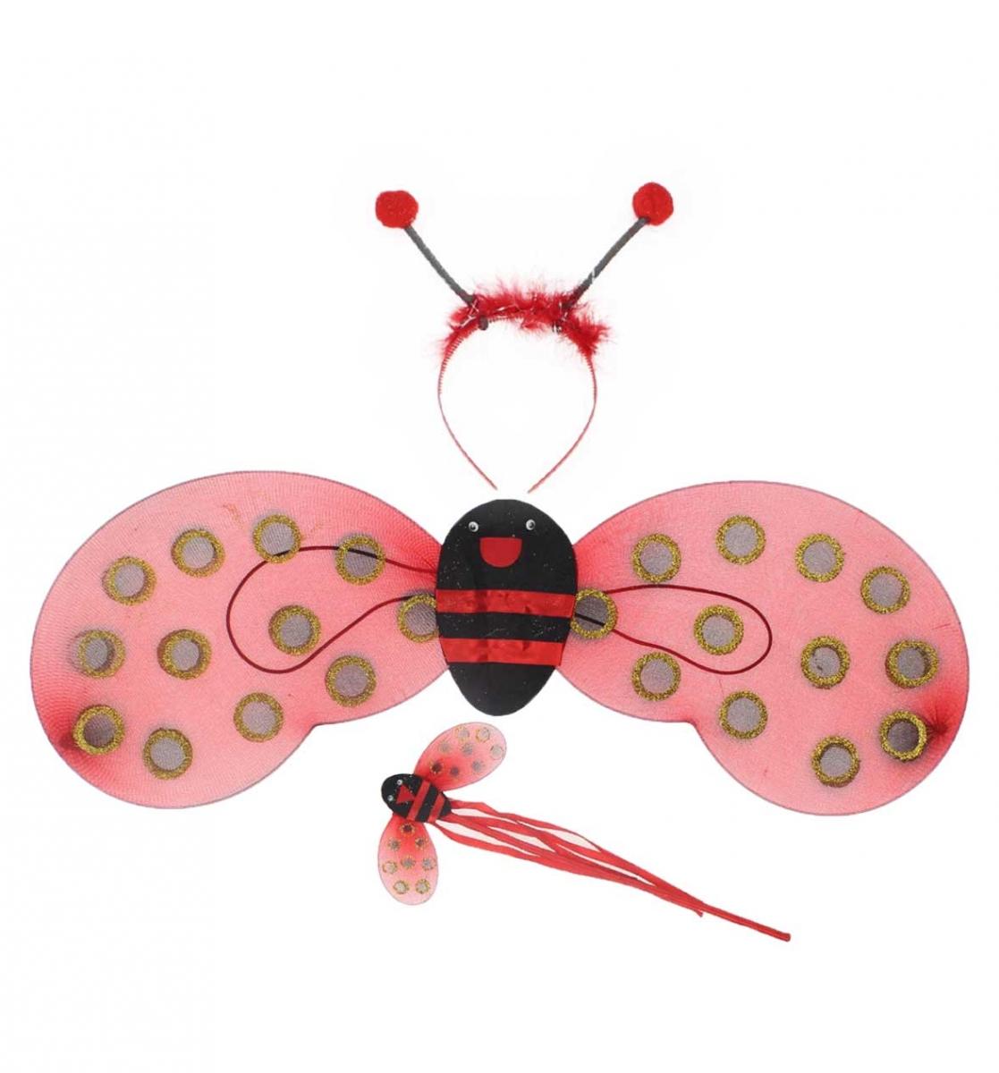 23 Nisan Kız Çocuk Uğur Böceği Kanat Seti 037-226003-002