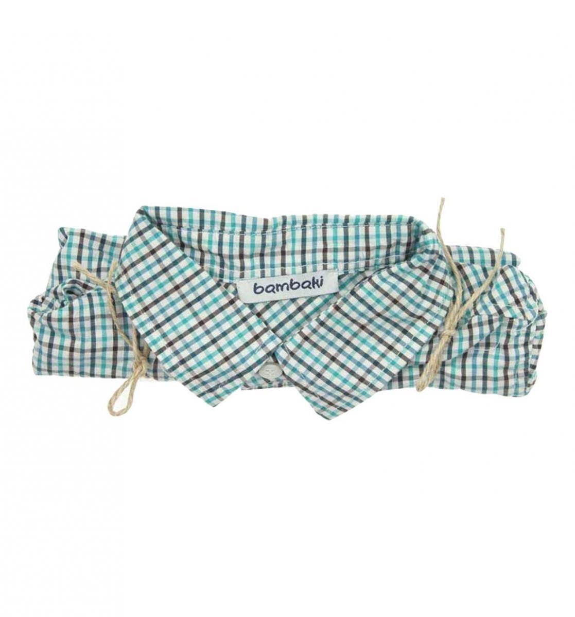 Bambaki Erkek Bebek Kısa Kol Bady Gömlek 013-00173-017