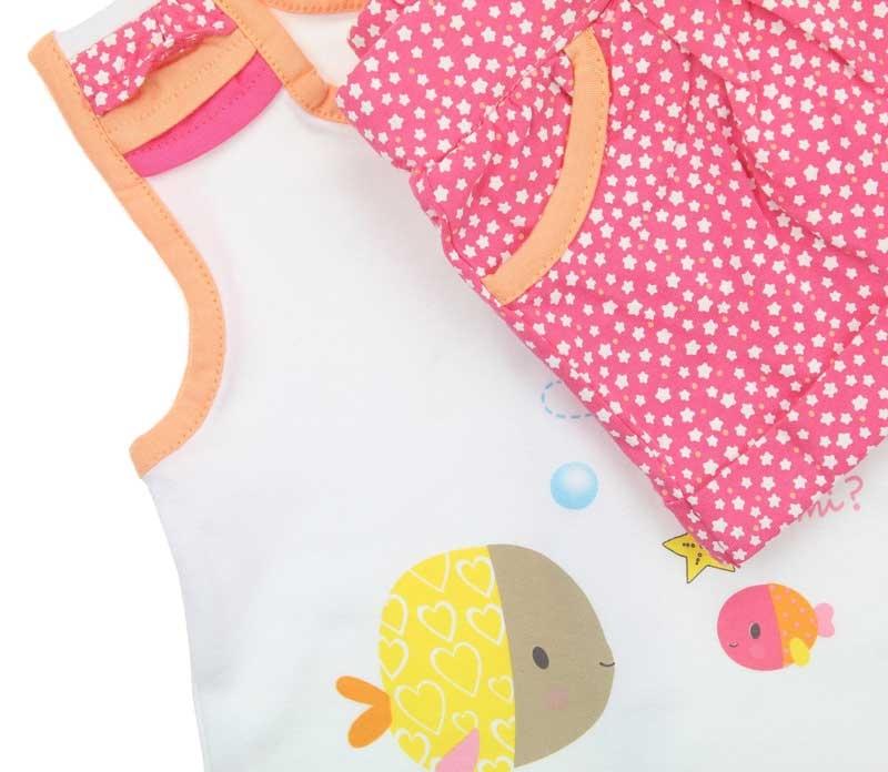 Bambaki Kız Bebek 2 li Takım 013-01106-021
