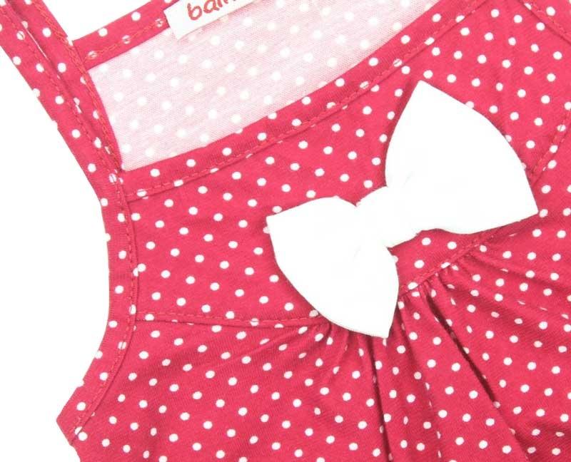 Bambaki Kız Bebek Askılı Fiyonklu Çıtçıtlı Bady 013-00045-022
