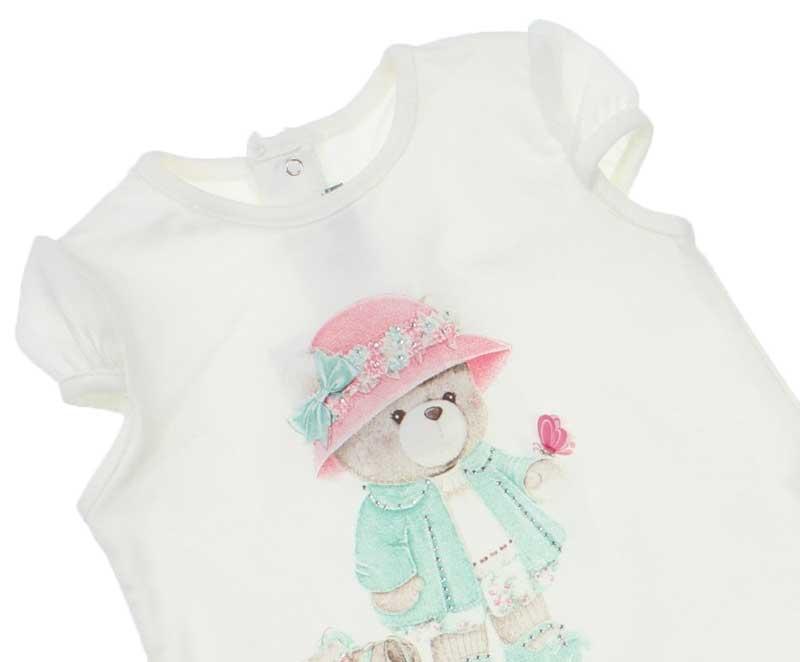 Bambaki Kız Bebek Dantelli Elbise 013-0044-028