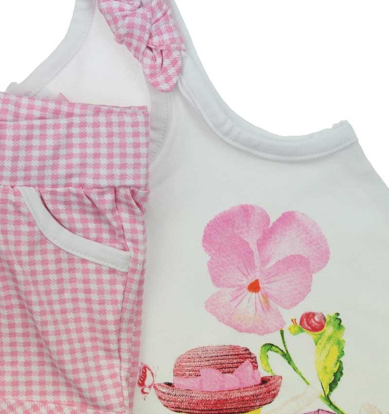 Bambaki Kız Bebek Şortlu Atlet Takım 013-01114-021