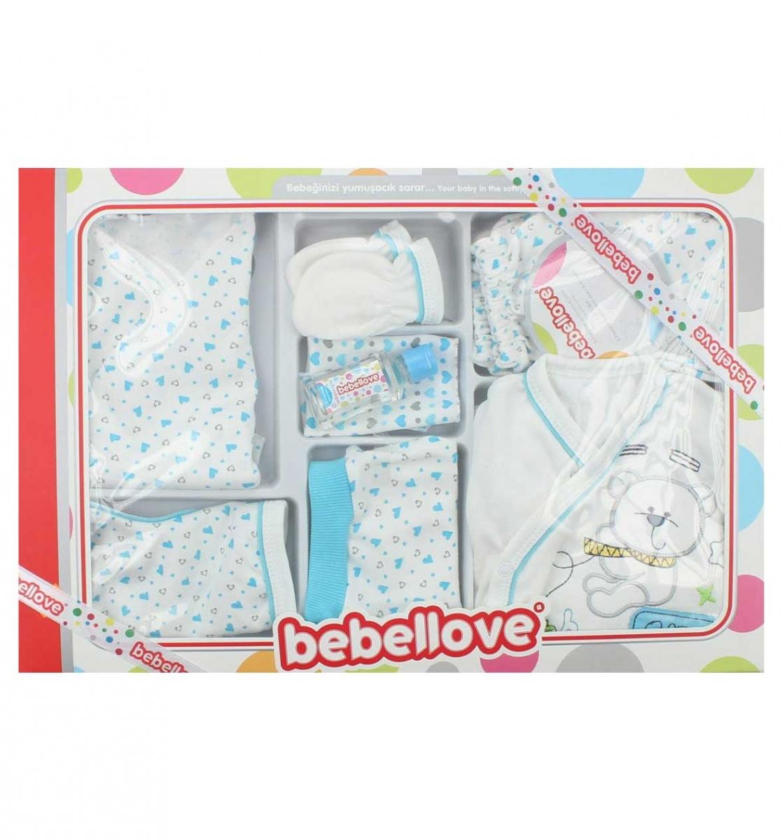 Bebellove Erkek Bebek 8 li Hastane Çıkışı 019-1005-037