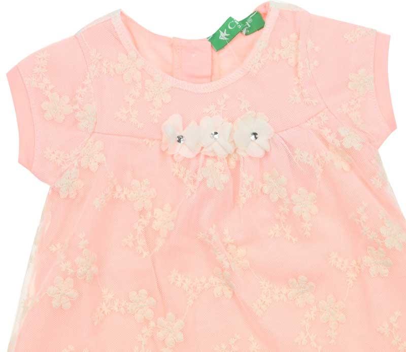 Cichlid Kız Bebek Elbise 038-2009-021