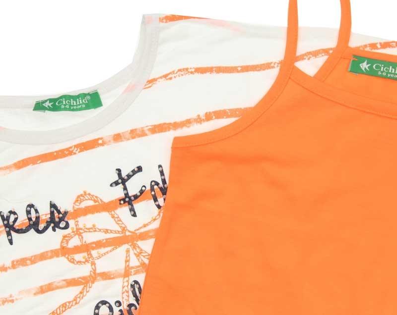 Cichlid Kız Çocuk İkili Tshirt Takım 038-8036-006