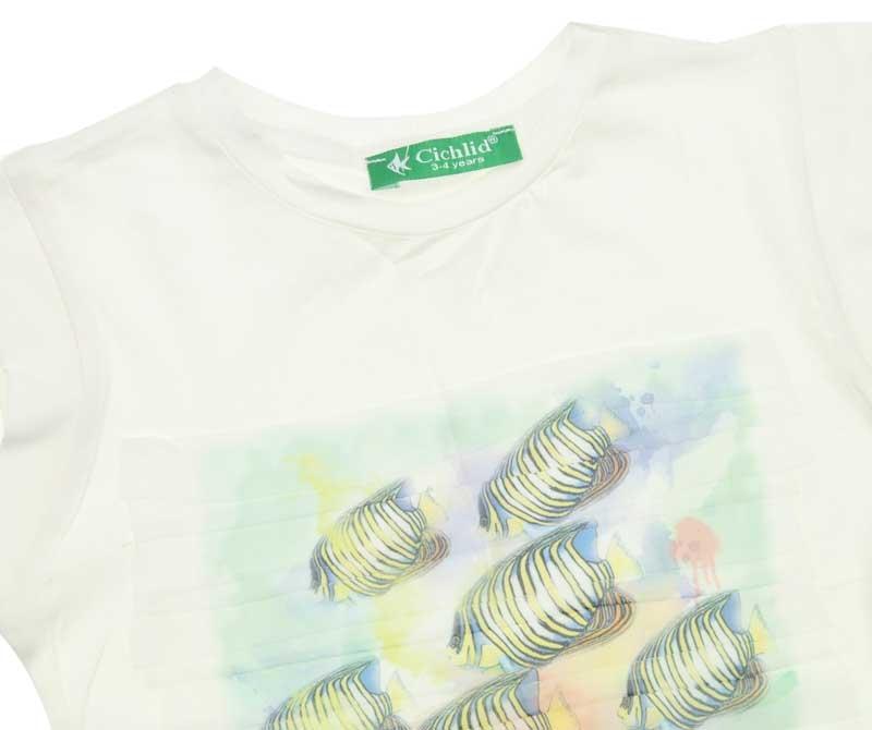 Cichlid Kız Çocuk Tshirt 038-1019-028