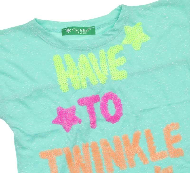 Cichlid Kız Çocuk Tshirt 038-1045-040