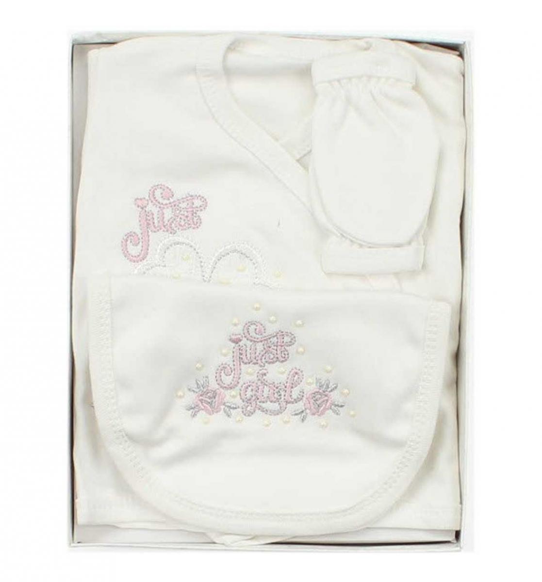Donino Baby Kız Bebek 5 li Hastane Çıkışı 019-1501-028
