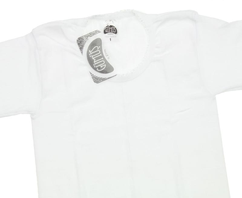 Gümüş İç Giyim 6'lı Kız Çocuk Fanila Atlet 040-3029-027