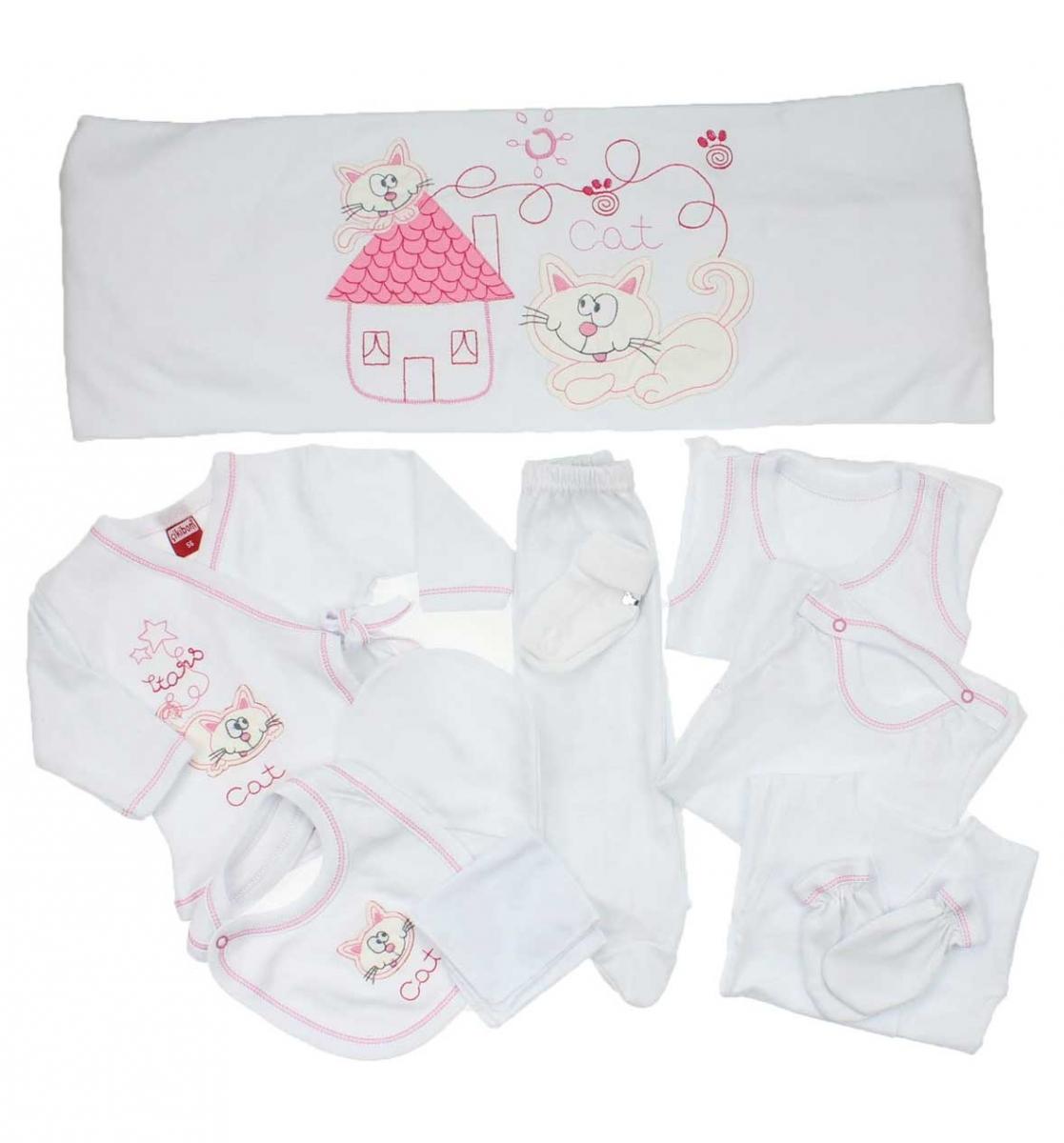 Çikibom Kız Bebek Kedili 11 li Hastane Çıkışı 019-6050-021