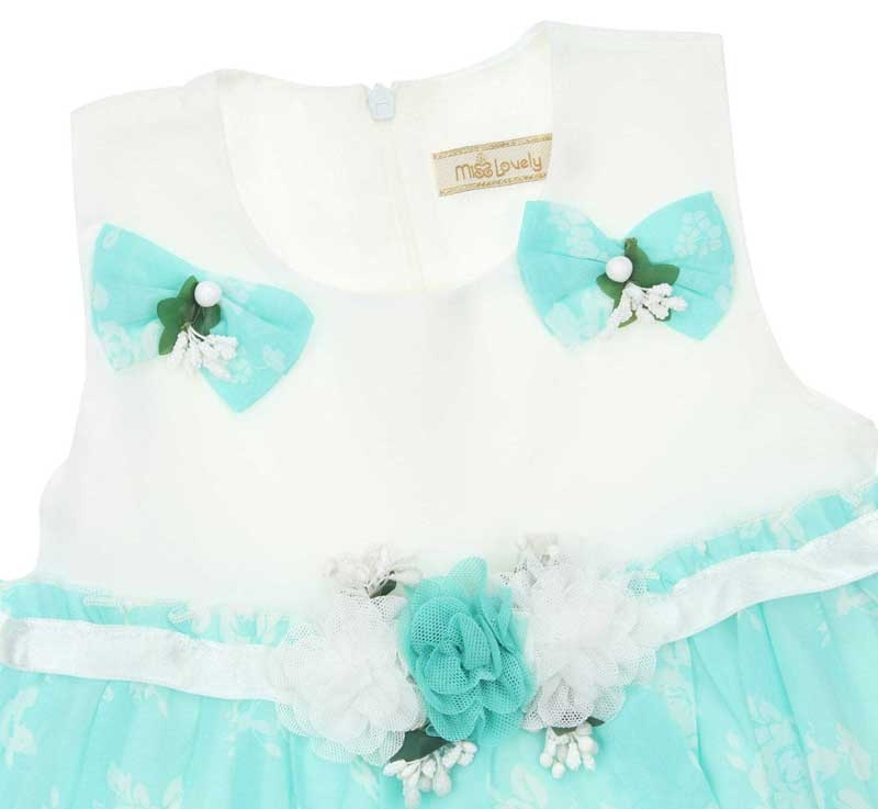 Miss Lovely Kız Çocuk Elbise 019-1005-040