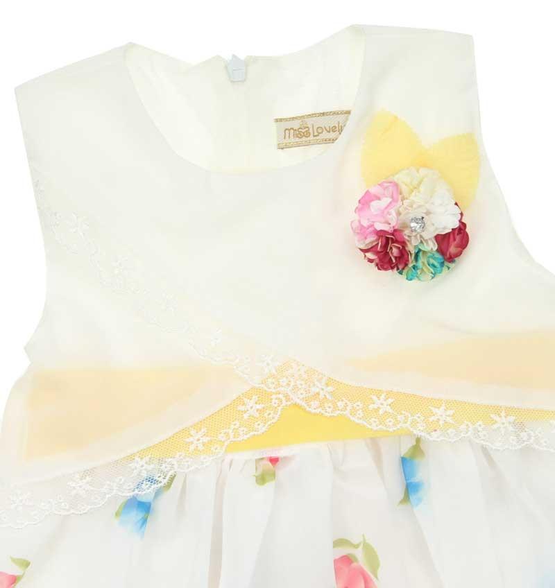 Miss Lovely Kız Çocuk Elbise 019-1009-001