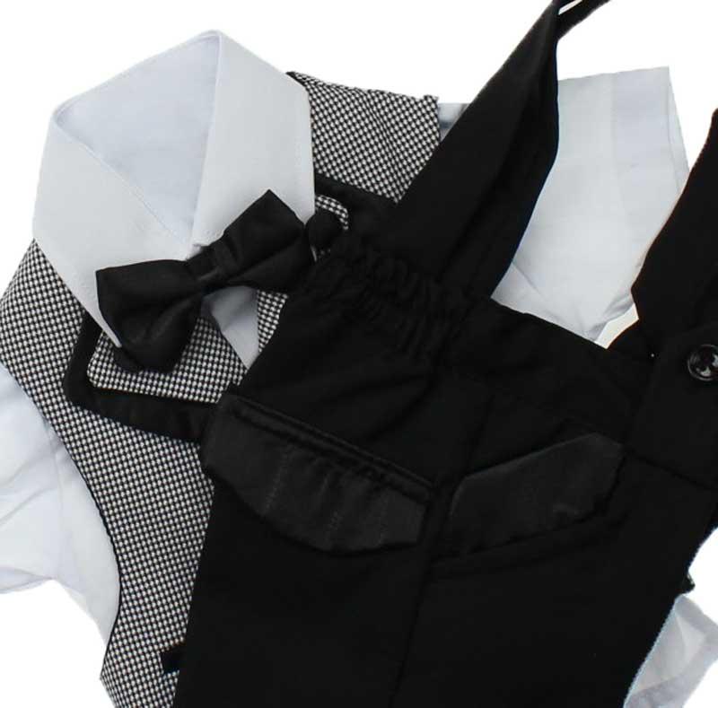 Modakids Erkek Çocuk Kısa Kol Smokin Takım Elbise 037-199701-011