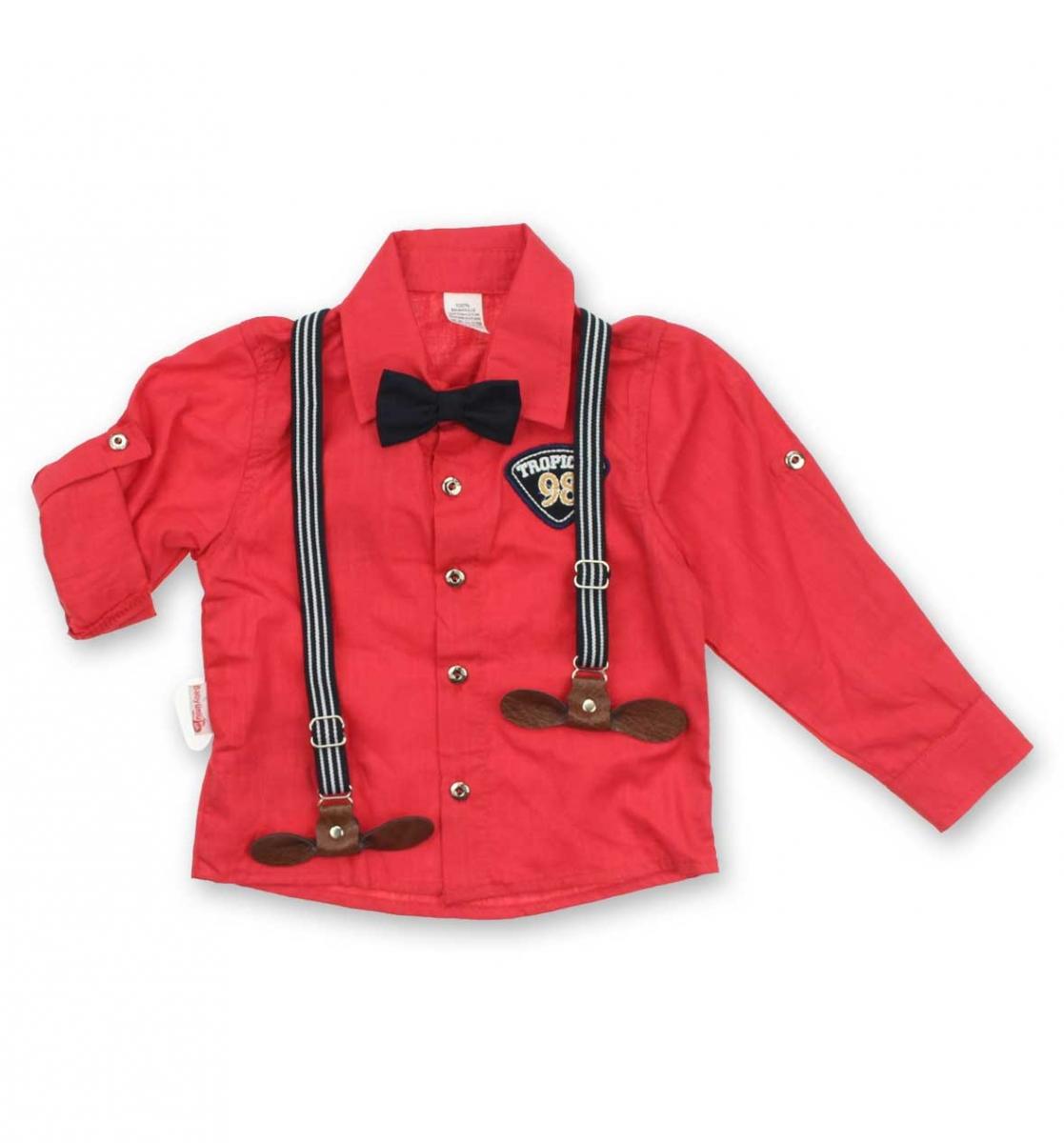 Modakids Erkek Çocuk Papyonlu Askılı Takım 019-4942-004