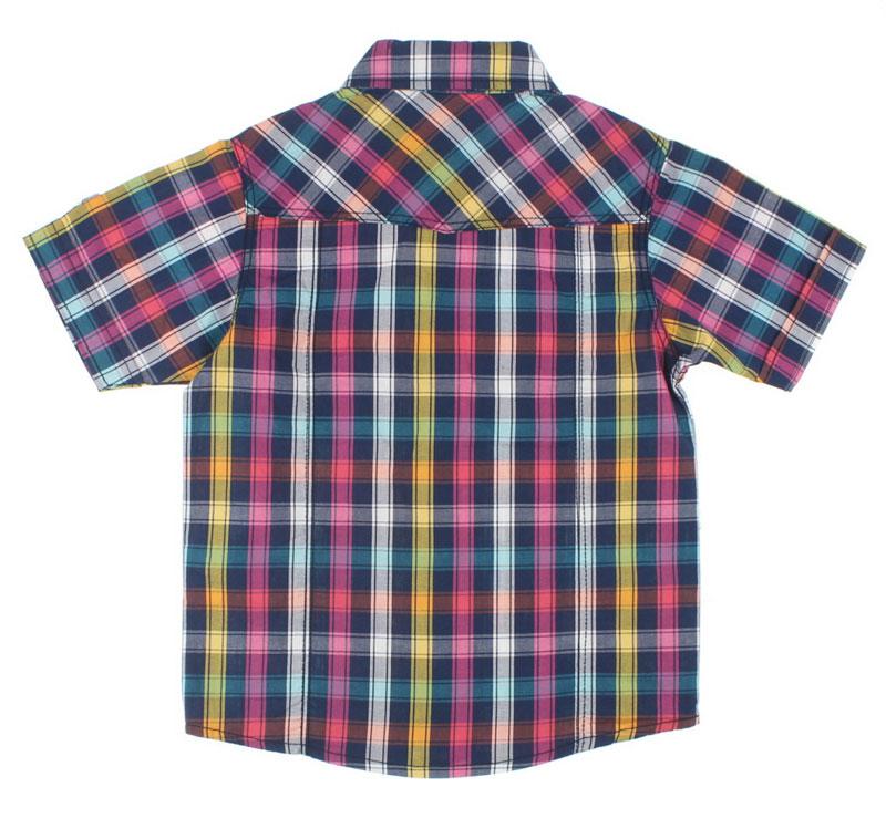 Nanica Erkek Çocuk Ekose Kısa Kol Gömlek (4-8 Yaş) 0014979012