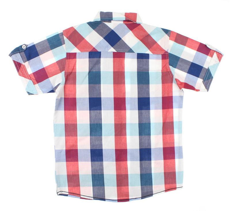Nanica Erkek Çocuk Ekoseli Kısa Kol Gömlek (9-14 Yaş)  0015148012