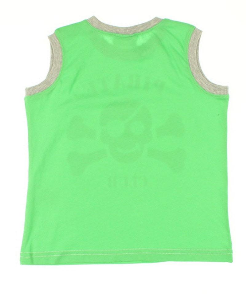Nanıca Erkek Çocuk Kuru Kafa Penye Atlet (1-3 Yaş) 0015046017