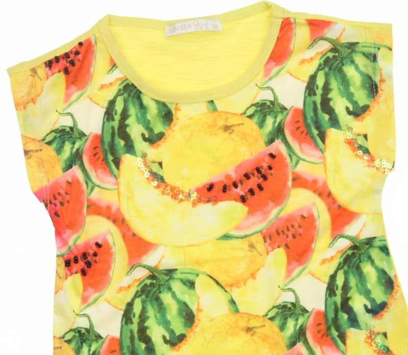 Nk Kids Kız Çocuk Karpuz Kavunlu Tshirt 002-317260-001