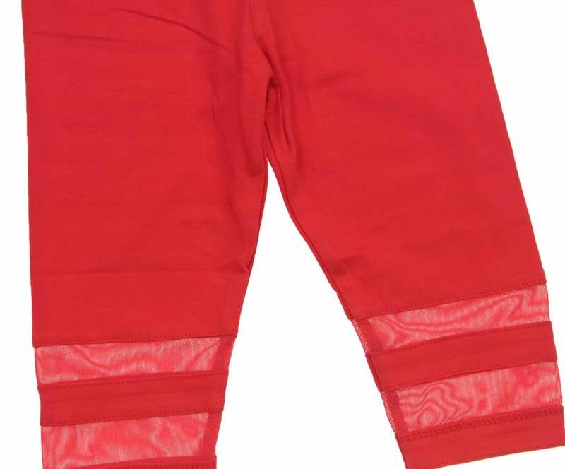 Nk Kids Kız Çocuk Paçası Tül Şeritli Tayt 002-51710-002