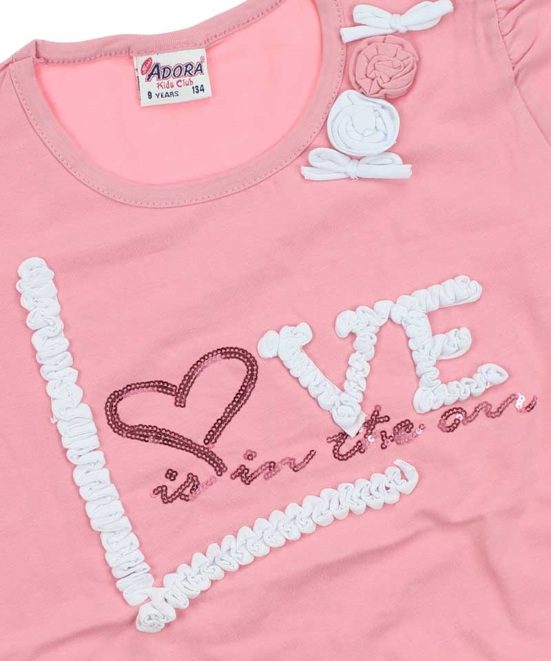 Seni Adora Kız Love 2 Fiyonklu Loseli (3-7 Yaş) 00430631021