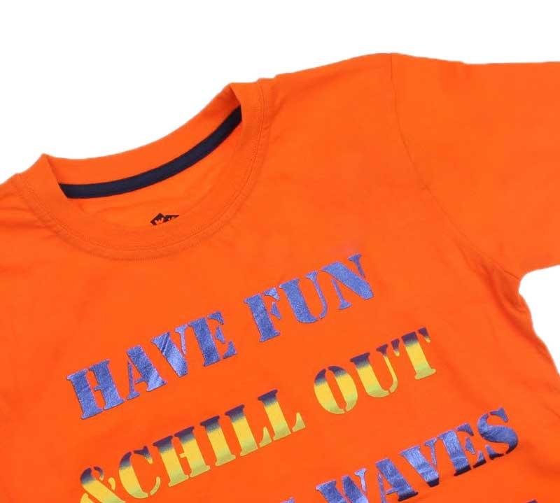 Wonder Kids Erkek Çocuk Baskılı Tshirt 010-1802-005