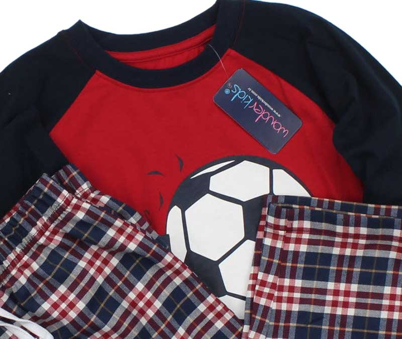 Wonder Kids Erkek Çocuk Pijama Takımı  010-4623-002