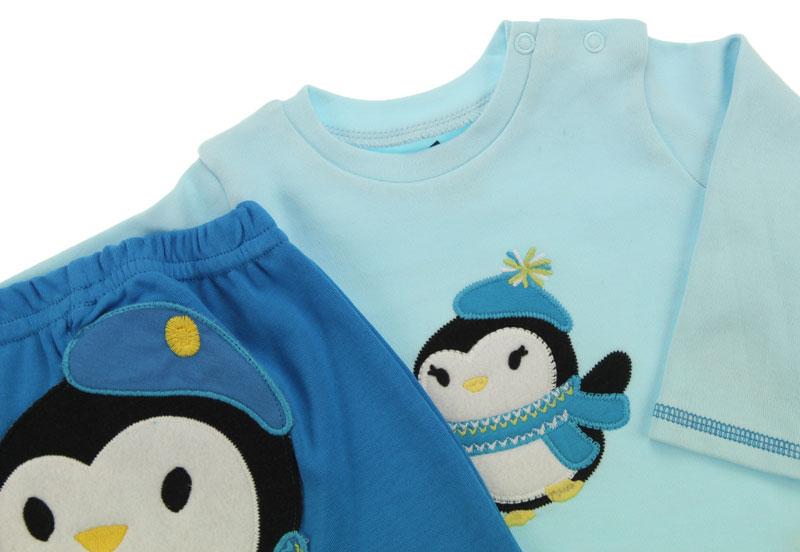 Wonder Kıds Erkek Pingu 2 li Takım (3 ay- 2 yaş) 010-1077-014