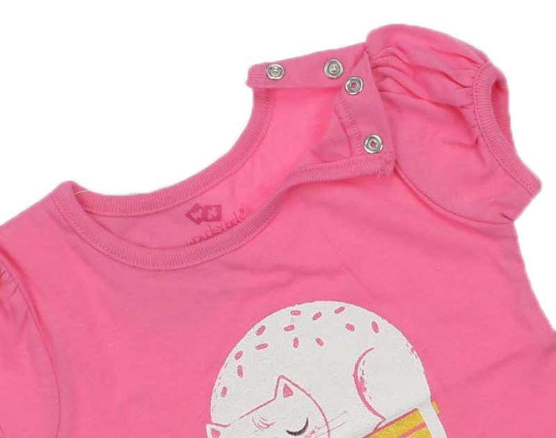 Wonder Kids Kız Bebek Tshirt 010-1303-022