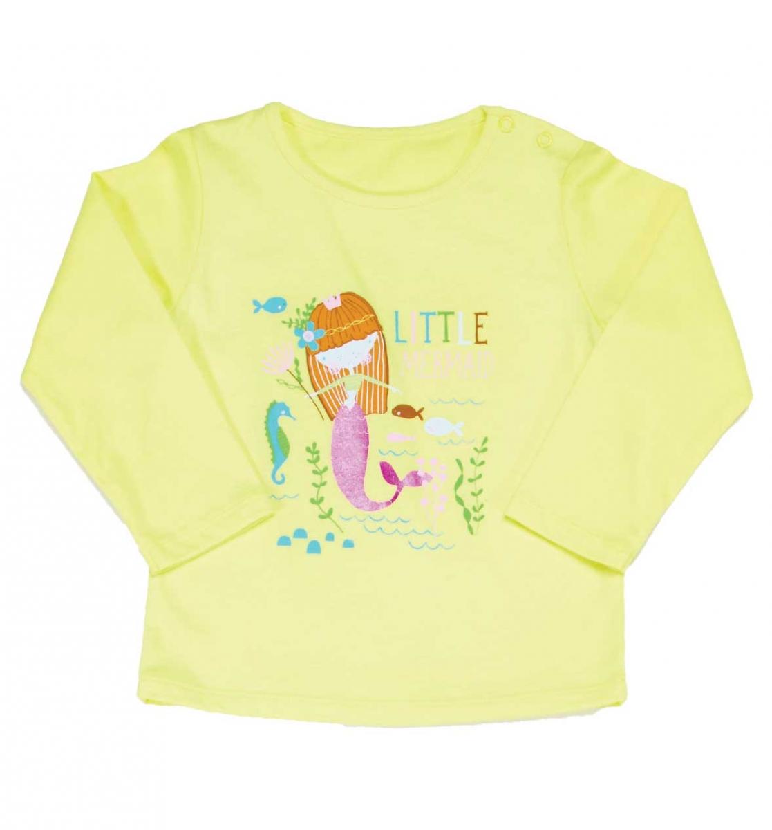 Wonder Kids Kız Bebek Uzun Kol Tshirt 010-1300-001