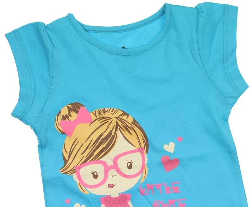 Wonder Kids Kız Çocuk Kısa Kol Tshirt 010-2902-015